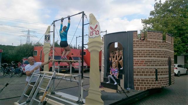 Gymsport Leiden test praalwagen