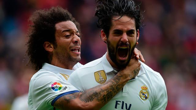 Real begint met Isco en Varane tegen Atletico