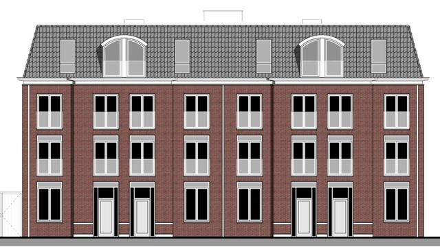 Appartementengebouwen verrijzen aan Zijlsingel