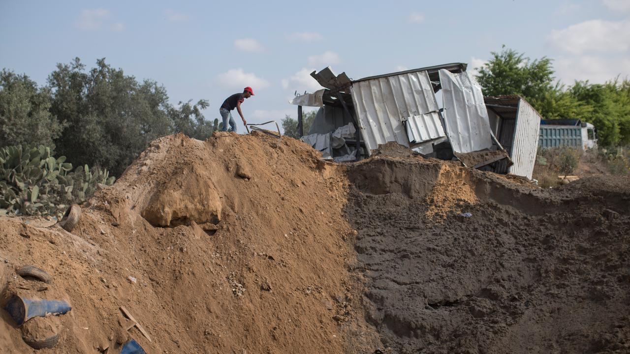Israël bestookt tientallen doelen Gaza na raketaanval