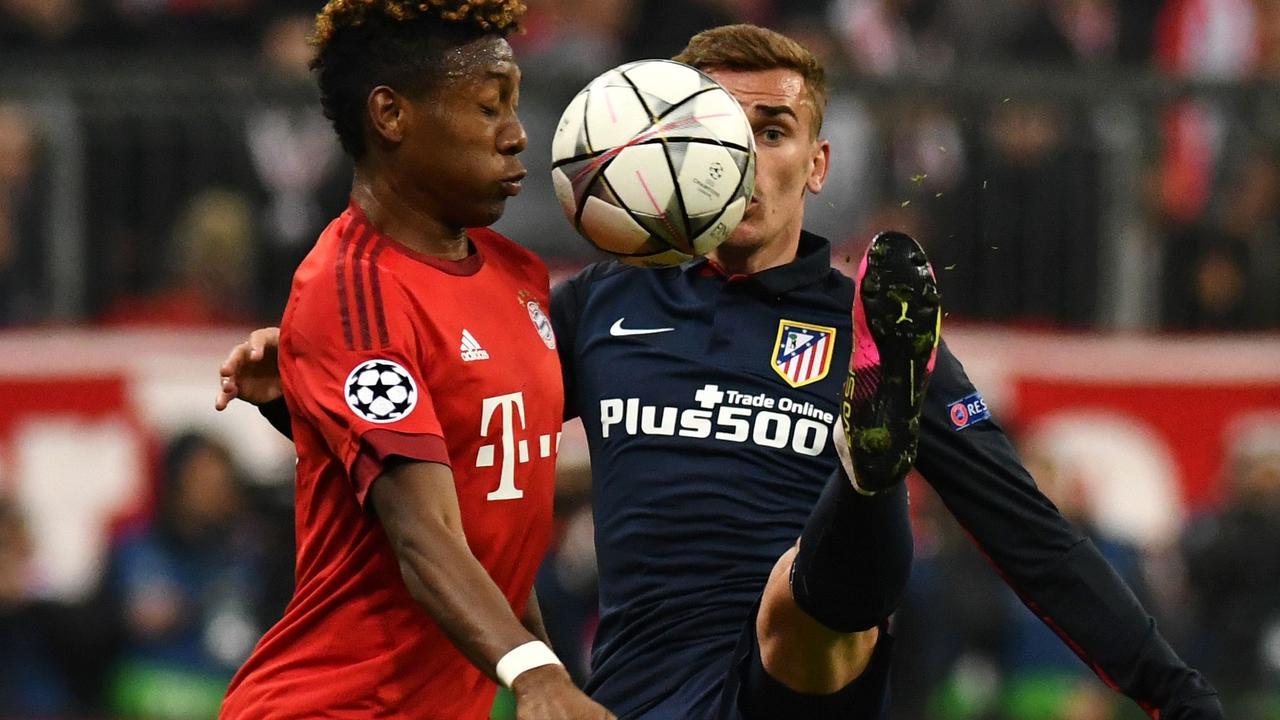 Bayern München-Atletico Madrid (2-1)