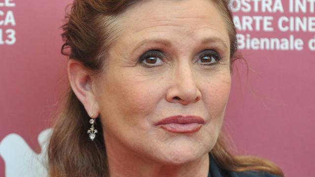Carrie Fisher had cocaïne, heroïne en xtc in lichaam bij overlijden