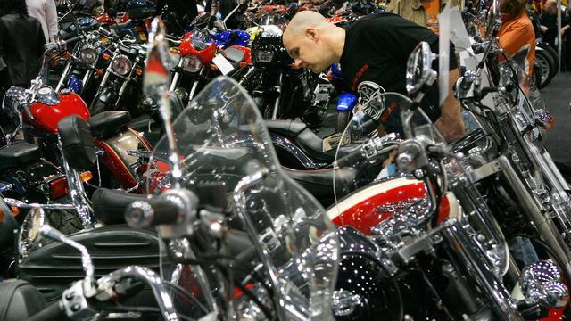 Verkoop motorfietsen weer verder toegenomen