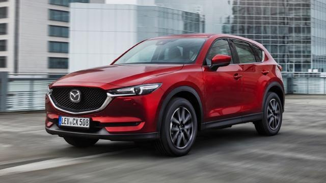 Bekijk de eerste rijtest van de nieuwe Mazda CX-5