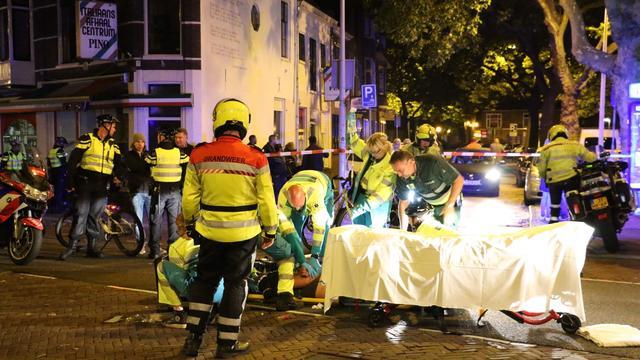 Man zwaargewond bij mishandeling op Kaasmarkt