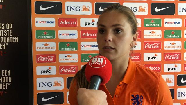 Lieke Martens weet zeker dat Oranjevrouwen beter zijn dan op WK