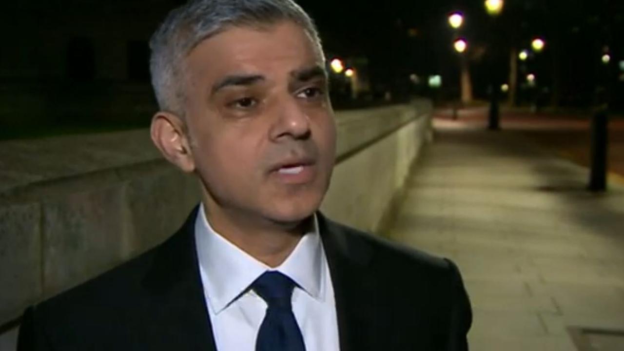 Burgemeester Londen gelooft dat terroristen 'verslagen' kunnen worden