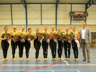 Twee titels voor twirlers op Nederlands kampioenschap