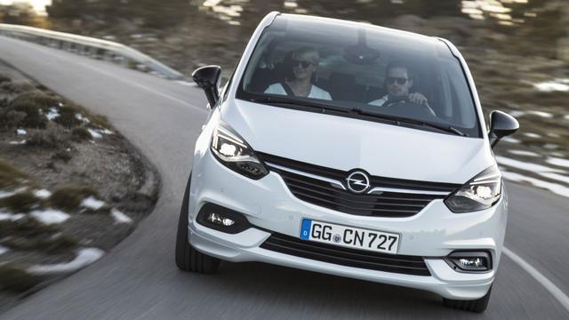 Opel Zafira gefacelift