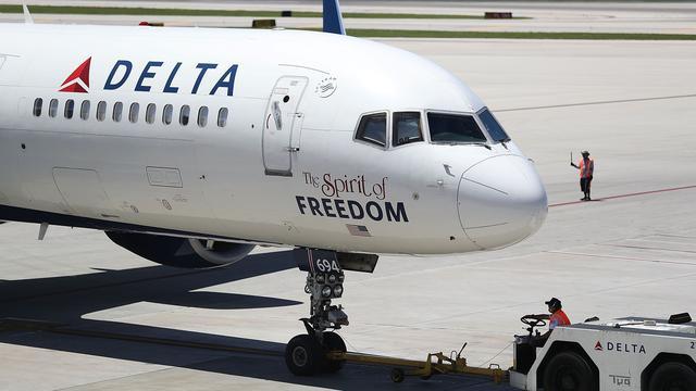 Luchtvaartmaatschappij Delta houdt last van prijsdruk