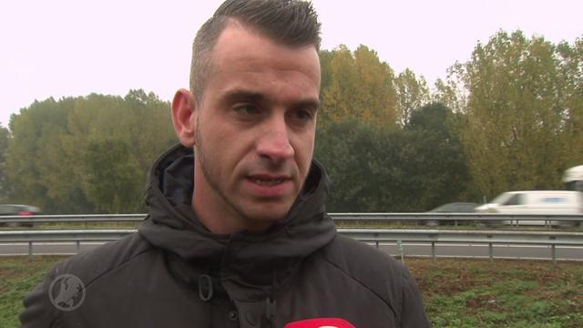 Feyenoord-fans schieten te hulp na zware botsing op snelweg
