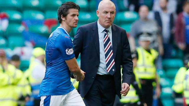 Barton en Rangers FC eens over beëindiging van contract