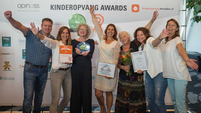 Junis Kinderopvang is beste kinderopvangketen van Nederland