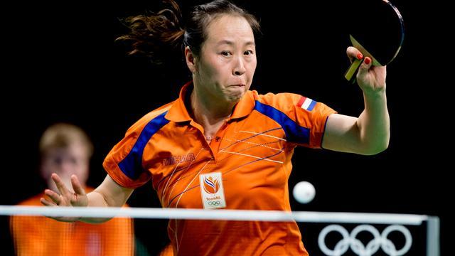 Tafeltennisster Li Jiao verliest in derde ronde op laatste Spelen