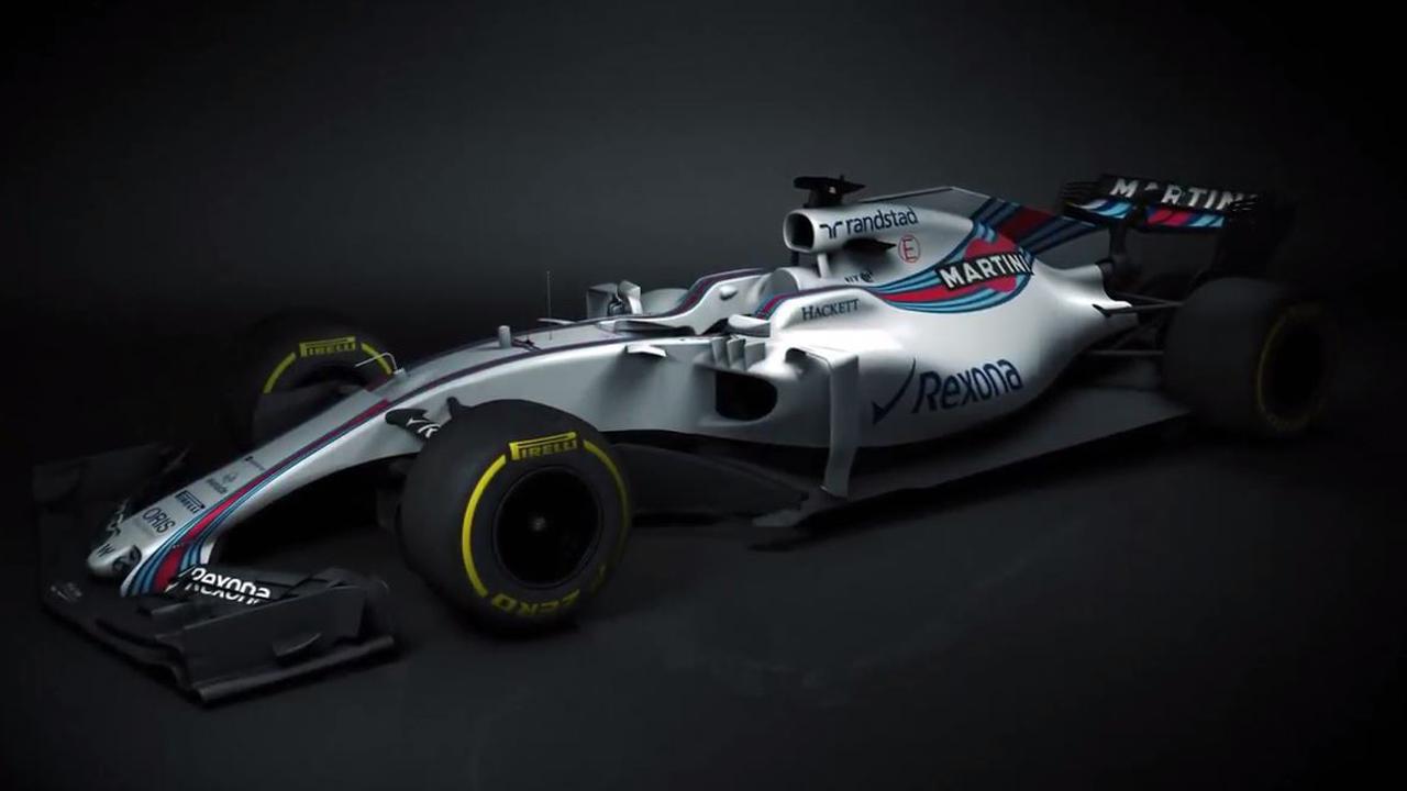 Williams geeft eerste beelden vrij van nieuwe auto