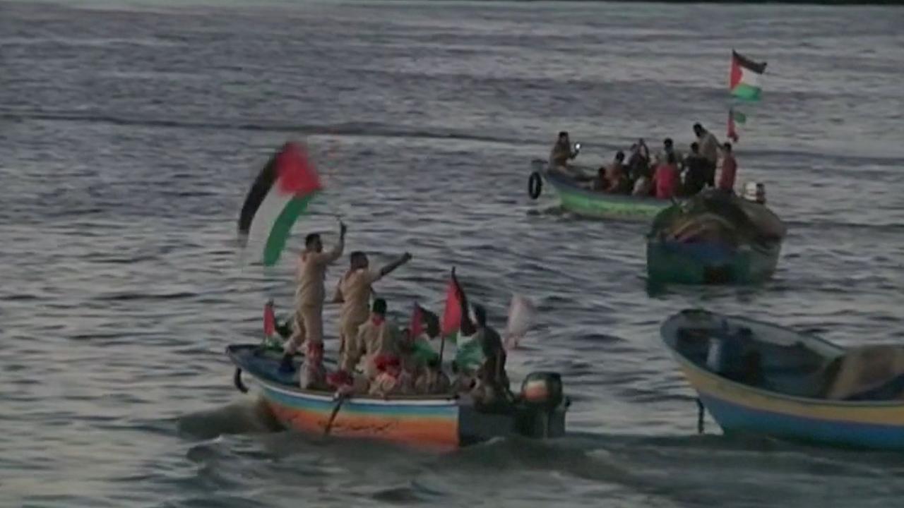 Inwoners Gaza wachten op activistenboot