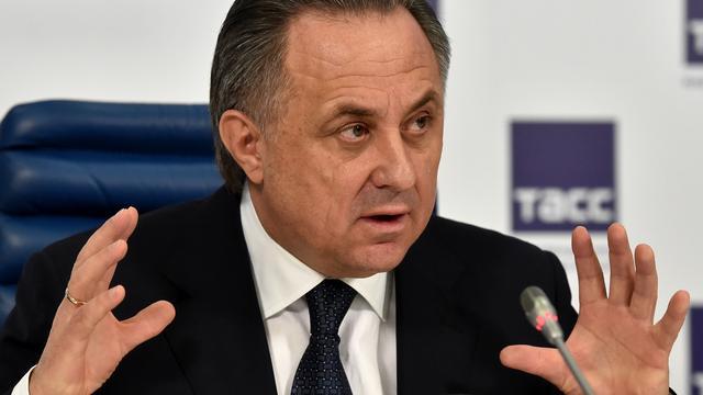 Sportminister Mutko geeft toe dat Russisch elftal in crisis verkeert
