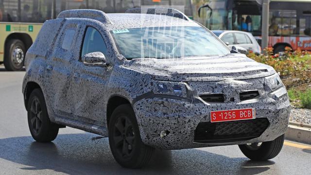 Nieuwe Dacia Duster voor het eerst gefotografeerd