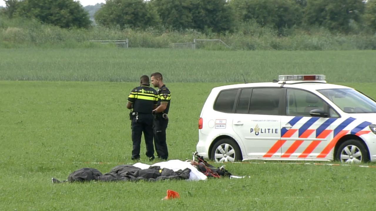Paraglider verongelukt in Zeewolde