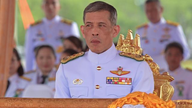 'Thailand maakt zich op voor kroning op 1 december'