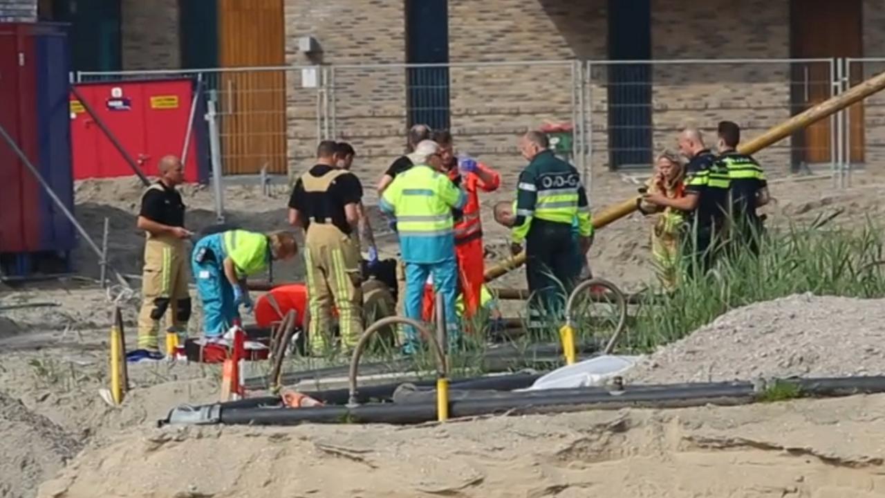 Vrouw (54) dood door omgevallen heistelling in Amsterdam