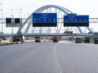 Autoverkeer vanuit Amsterdam omgeleid via Utrecht
