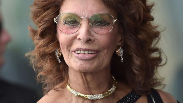 Actrice Sophia Loren wordt ereburger Napels