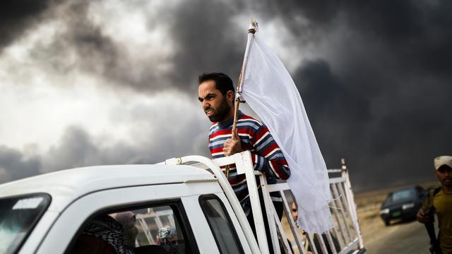 'Meer dan achthonderd strijders van IS gedood bij offensief Mosul'