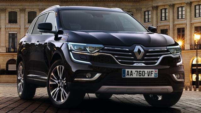 Renault Koleos extra luxe als Initiale Paris
