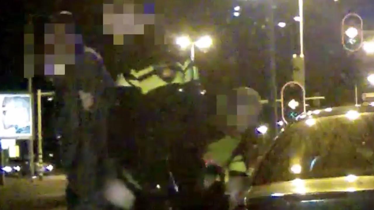 Politie arresteert bestuurder gestolen Franse auto