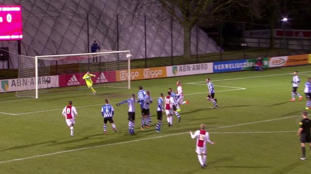 Samenvatting Jong Ajax-FC Eindhoven (1-1)
