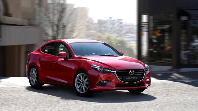 De Mazda 3 is nog verder verfijnd; een eerste rij-impressie