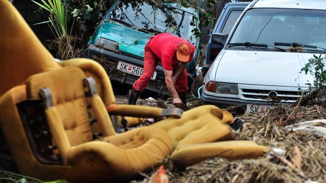 Nederlandse noodhulp voor Macedonië na overstromingen