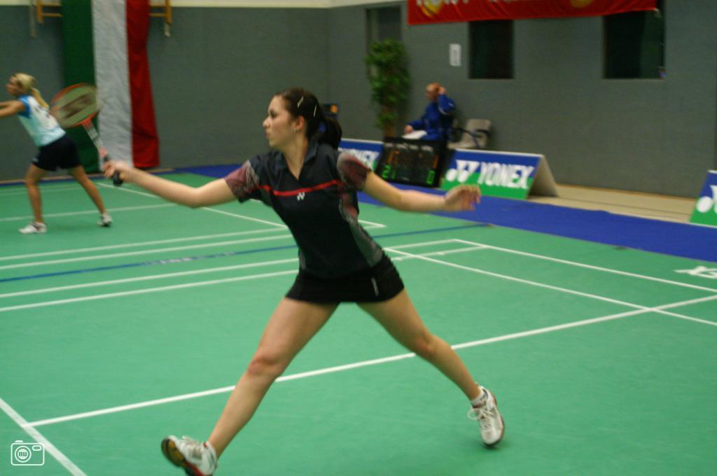 Badminton German Junior Open foto 42808 | nufoto.nl | De ... Badminton Tilburg