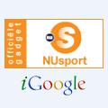 NUsport in iGoogle