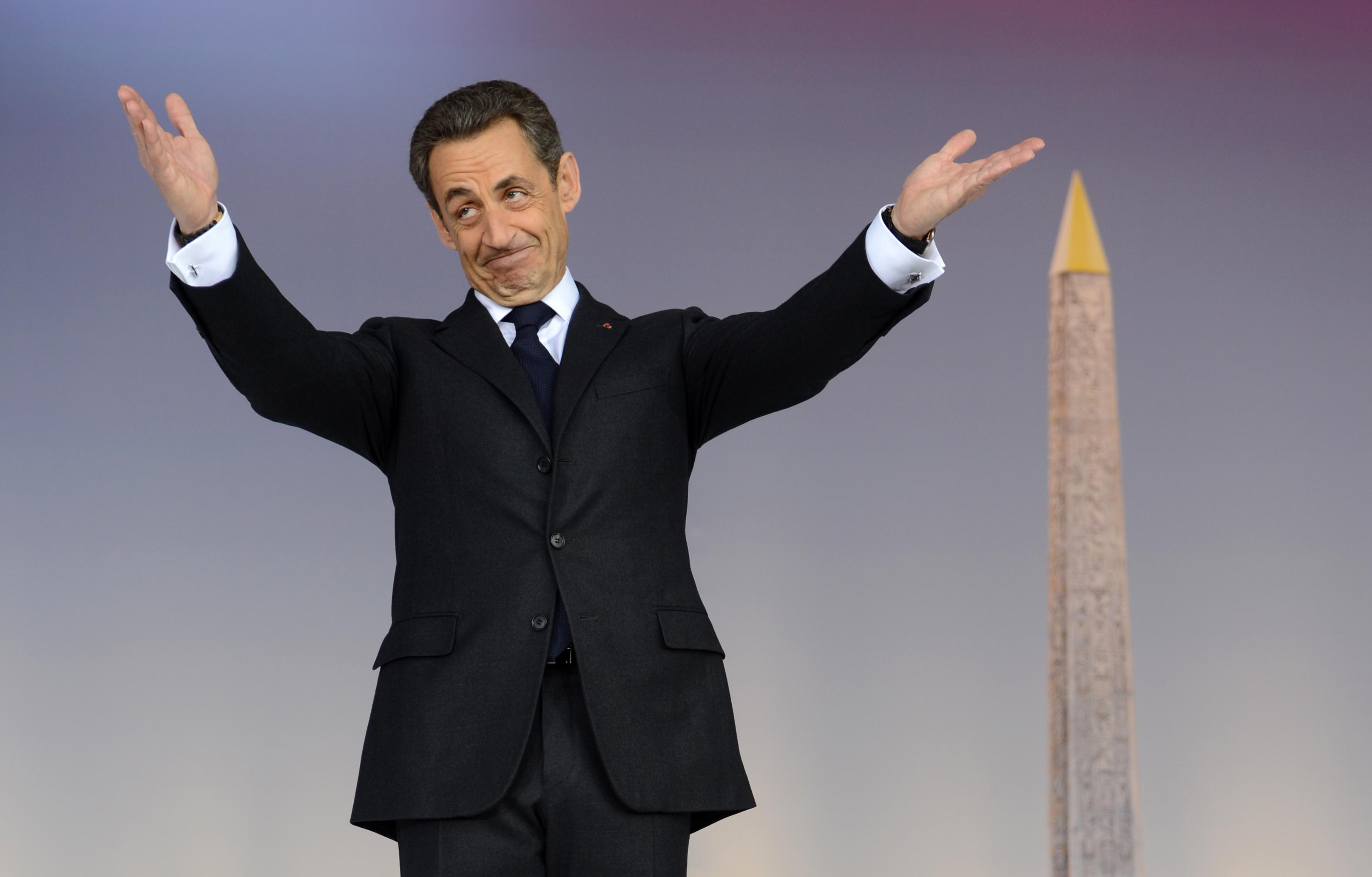 Verkiezingen Frankrijk Nicolas Sarkozy