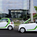 Smart start levering Fortwo electric drive
