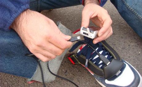 cellphonechargershoe