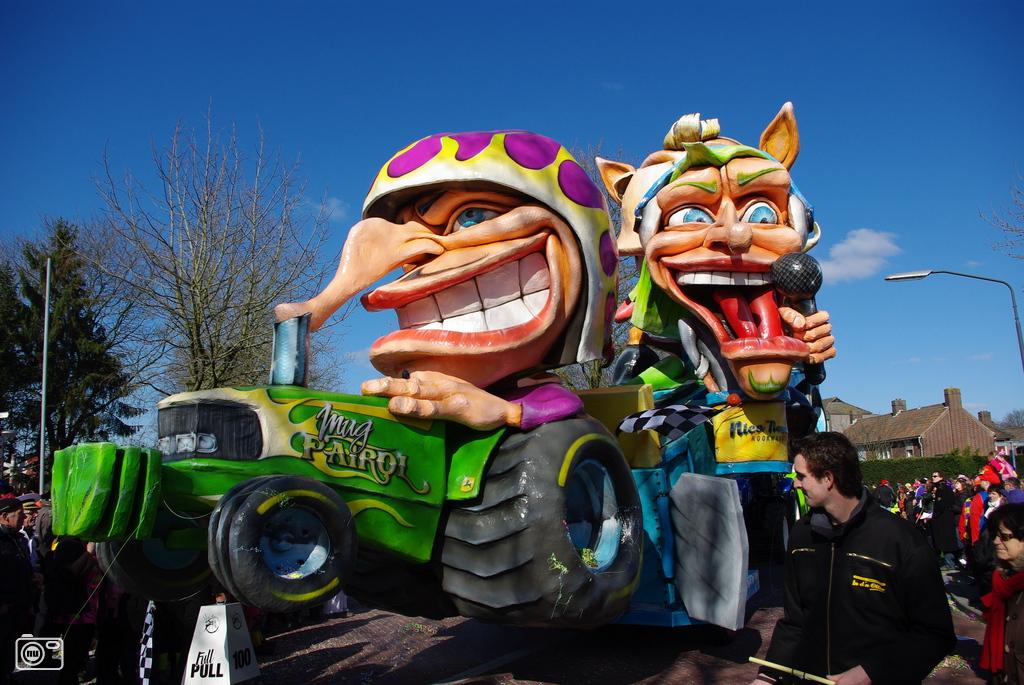 Mooie Carnavalswagen