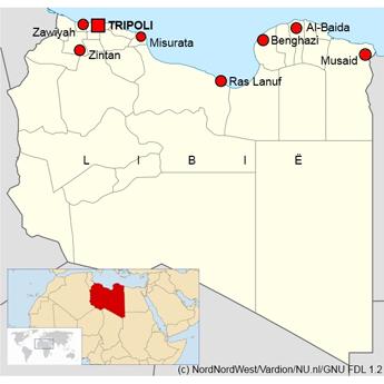 Oorlog libie laatste nieuws