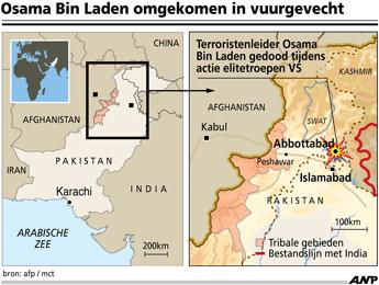 osama bin laden infographic