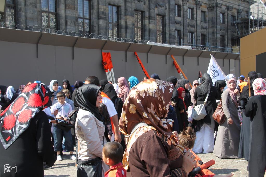 Islamitische demonstratie in amsterdam foto 208038 for Demonstratie amsterdam
