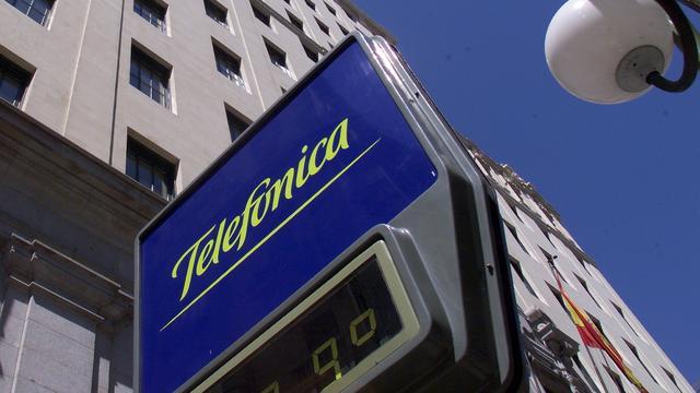 Minder winst en omzet voor Telefónica