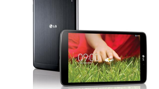 LG G Pad 8.3 vanaf november in Nederland