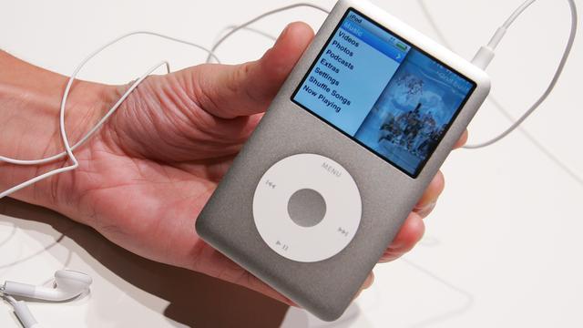 iPod Classic uit productie vanwege niet beschikbare onderdelen