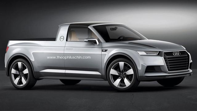 Audi pick-up CrossTown als studiemodel