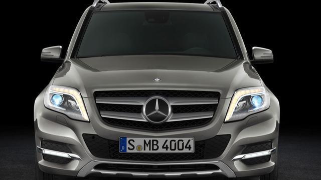 Mercedes introduceert nieuwe versies GLK