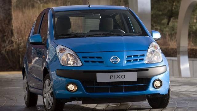 Nissan stopt met Pixo