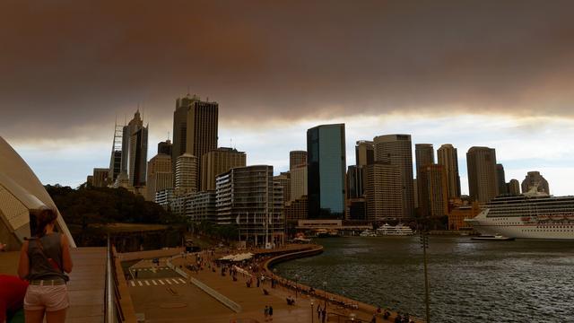 Bosbranden woeden rond Sydney