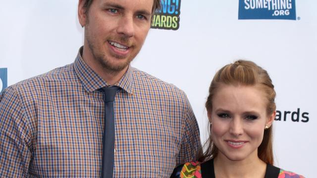 'Kristen Bell en Dax Shepard zijn getrouwd'